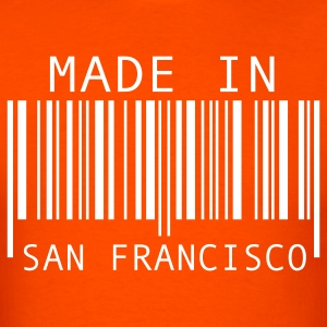 Orange Made in San Francisco T-Shirts - Men's T-Shirt