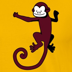 Gold monkey on the back T-Shirts