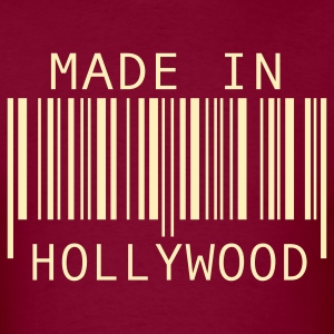 Burgundy Made in Hollywood T-Shirts - Men's T-Shirt