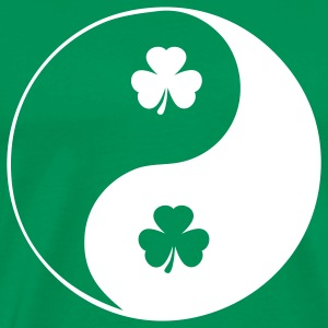 Kelly green ireland peace T-Shirts - Men's Premium T-Shirt