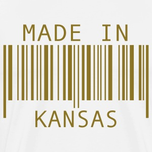 White Made in Kansas T-Shirts - Men's Premium T-Shirt