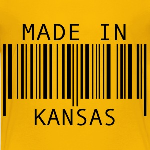 Yellow Made in Kansas Kids' Shirts - Kids' Premium T-Shirt