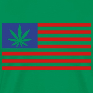 Weed Flag - Men's Premium T-Shirt