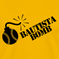 Design ~ Bautista Bomb T-Shirt (Men's)