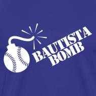 Design ~ Bautista Bomb T-Shirt - White Logo (Men's)