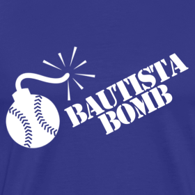 Design ~ Bautista Bomb T-Shirt - White Logo (Men's)