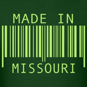 Forest green Made in Missouri T-Shirts - Men's T-Shirt