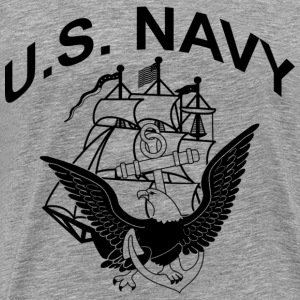 U.S. NAVY - Men's Premium T-Shirt