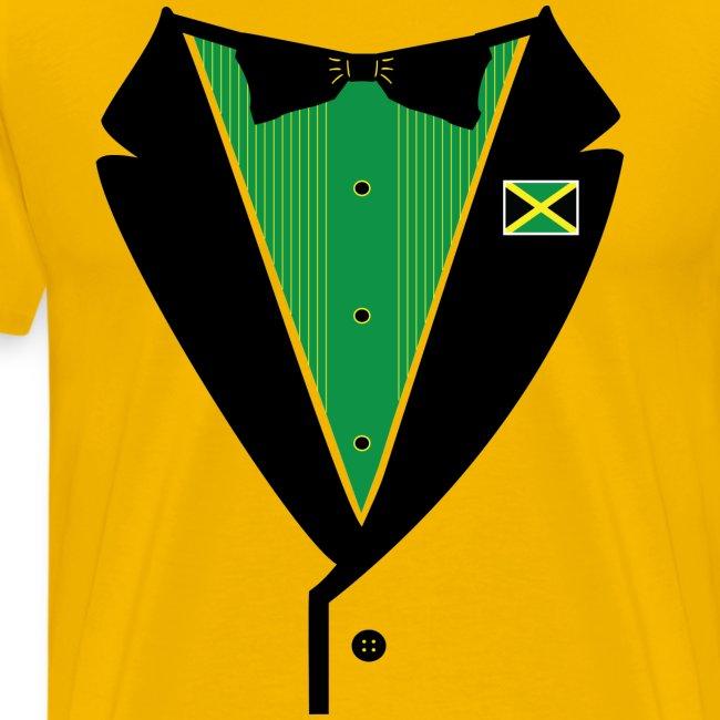 Jamaican Tuxedo on Heavy Weight Tee