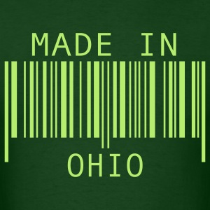 Forest green Made in Ohio T-Shirts - Men's T-Shirt