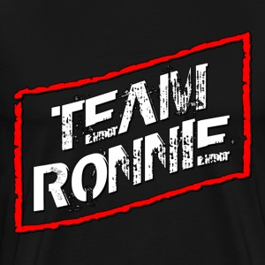 Black Team Ronnie Jersey Shore T-Shirts - Men's Premium T-Shirt