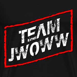 Black Team Jwoww Jersey Shore T-Shirts - Men's Premium T-Shirt
