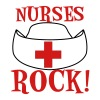 White NURSES ROCK ! Plus Size - Women's Premium T-Shirt
