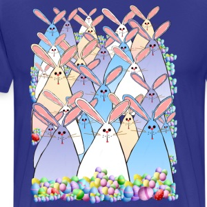 Happy Easter Bunnies - Men's Premium T-Shirt