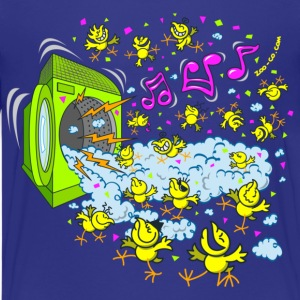 Royal blue Chicks Foam Party Kids' Shirts - Kids' Premium T-Shirt