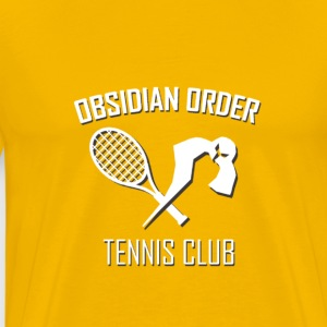 Obsidian Order Tennis club - Men's Premium T-Shirt