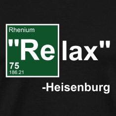 Black Relax Heisenburg T-Shirts