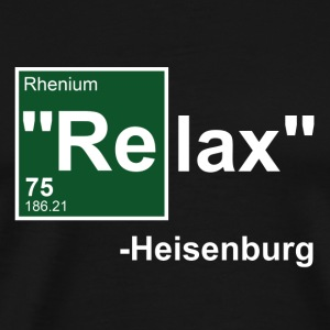 Black Relax Heisenburg T-Shirts - Men's Premium T-Shirt