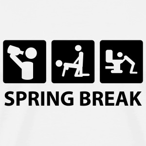 White spring break T-Shirts - Men's Premium T-Shirt