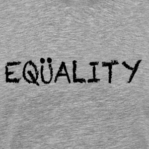 Heather grey EQUALITY Marriage T-Shirts - Men's Premium T-Shirt