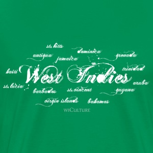 West Indies + Islands - Men's Premium T-Shirt