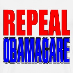 White Repeal Obamacare T-Shirts