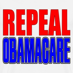 White Repeal Obamacare T-Shirts - Men's Premium T-Shirt