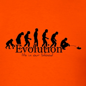Orange Herper EVOLUTION Tee - Men's T-Shirt