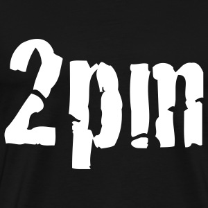 Black 2pm T-Shirts - Men's Premium T-Shirt