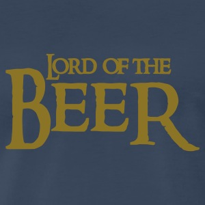 Navy lord of the beer T-Shirts - Men's Premium T-Shirt