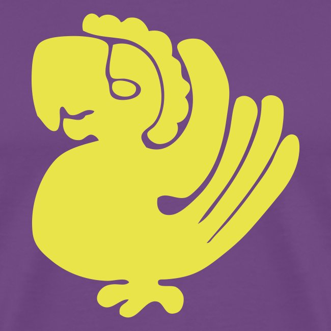 Purple Parrots Custom Team Shirt