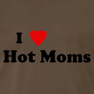 I heart hot moms - Men's Premium T-Shirt