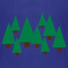 Turquoise Forest Kids' Shirts