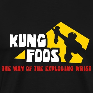 KUNG FOOS the way of... - Men's Premium T-Shirt