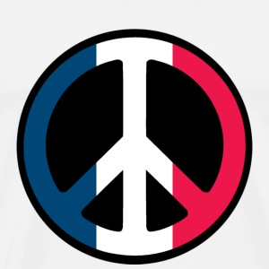 France Peace T-Shirts - Men's Premium T-Shirt
