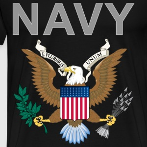 Navy 1 - Men's Premium T-Shirt