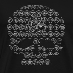 """Karcist's Lament"" Goetic Tee 3x"