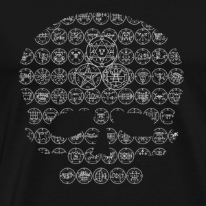 """Karcist's Lament"" Goetic Tee 3x - Men's Premium T-Shirt"