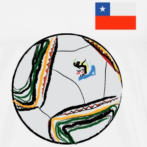 Chile Supporter - Men's Premium T-Shirt