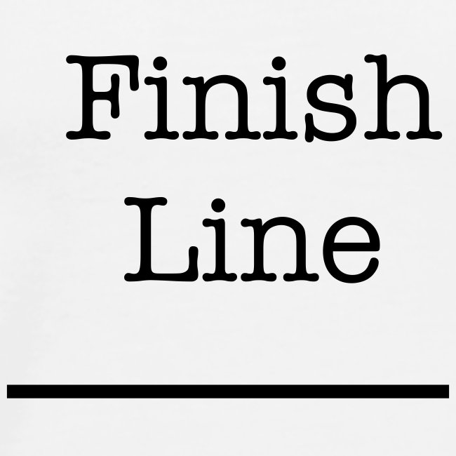 Finish Line t Shirt
