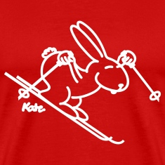 Red Snow Bunny T-Shirts