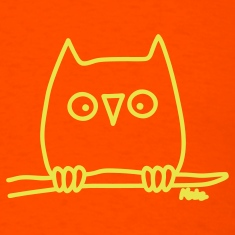 Orange Owl T-Shirts