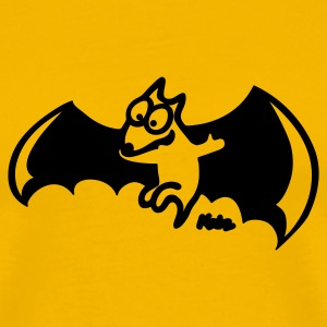 Yellow Flying Fox T-Shirts - Men's Premium T-Shirt