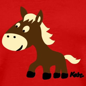 Red Pony (3c) T-Shirts - Men's Premium T-Shirt