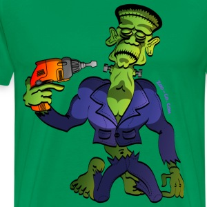 Kelly green Franky Says Goodbye T-Shirts - Men's Premium T-Shirt