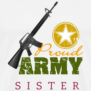 Proud Army Sister - Men's Premium T-Shirt