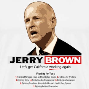 Jerry Brown 2010 - Men's Premium T-Shirt