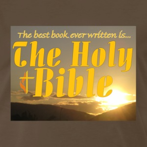Brown the_bible T-Shirts - Men's Premium T-Shirt