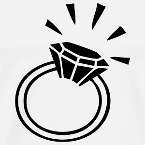 White rings T-Shirts - Men's Premium T-Shirt