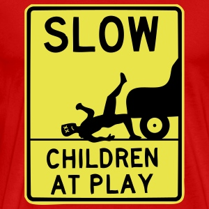 slow children t-shirt - Men's Premium T-Shirt